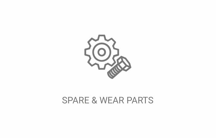 spare and wear